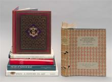 (SPANISH ARTS) SIX VOLUMES The Art of Medieval Spain, Spain: A History in Art, The Kings of Spain, Las Cien Majores Obras de la Escu...