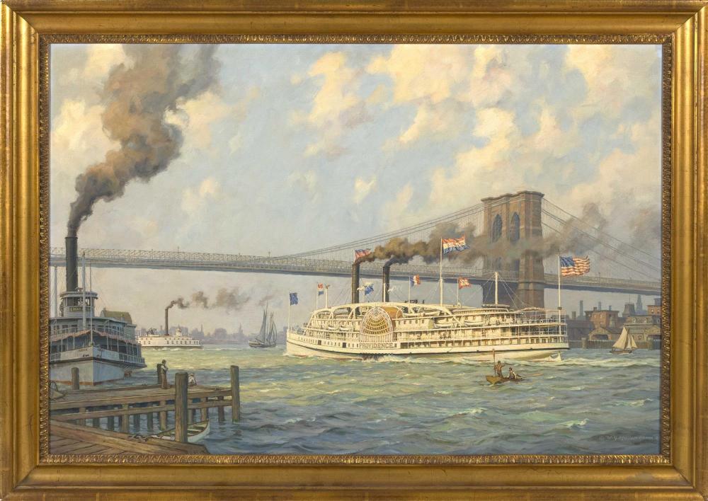 WILLIAM G. MULLER, New York, b. 1937,