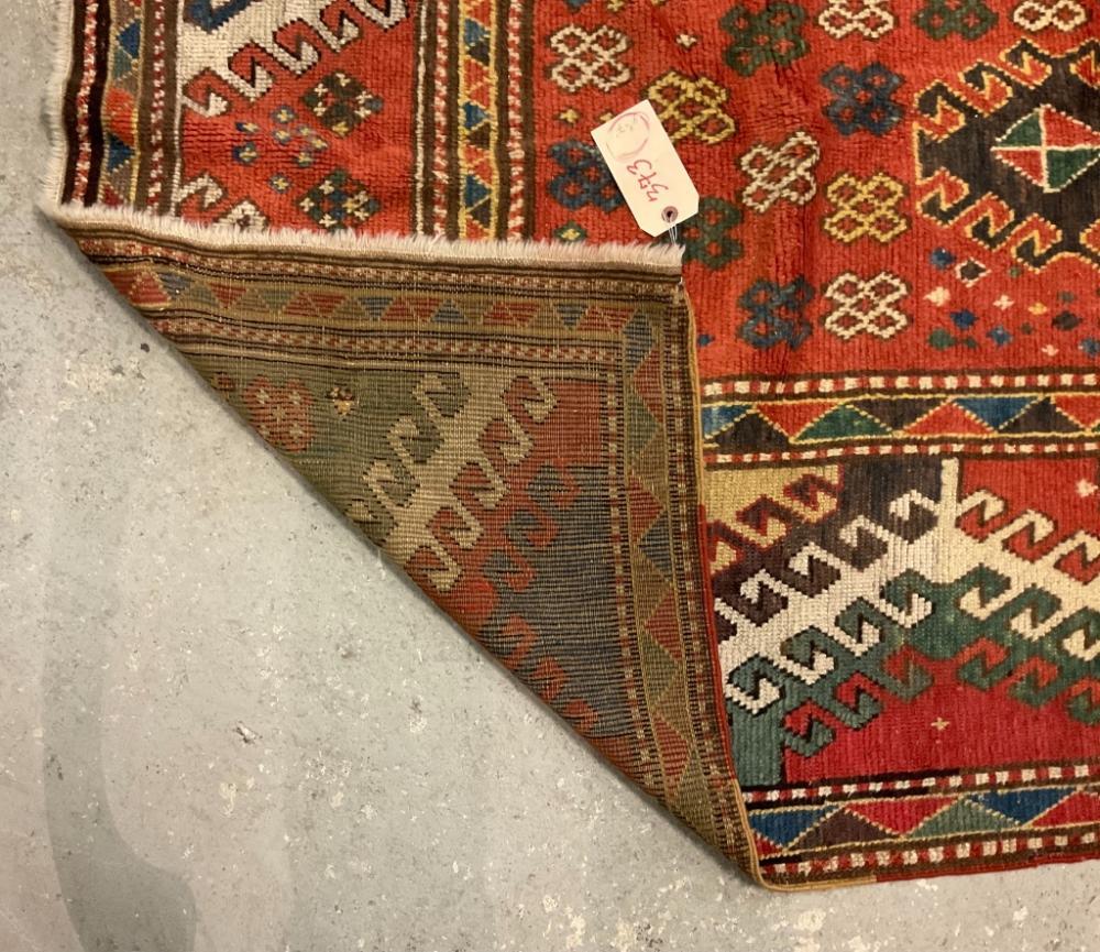 ORIENTAL RUG: KAZAK 4'7