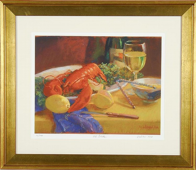 FRAMED PRINT: ROSALIE NADEAU (Cape Cod Contemporary).