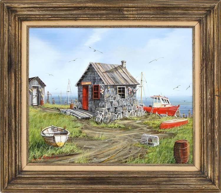 JAMES W. MADDOCKS, Cape Cod, 20th Century,