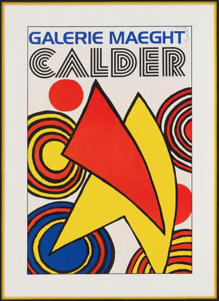ALEXANDER CALDER POSTER With the name