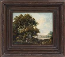 NORWICH SCHOOL, British, Circa 1800, Autumn landscape, Oil on canvas, 9