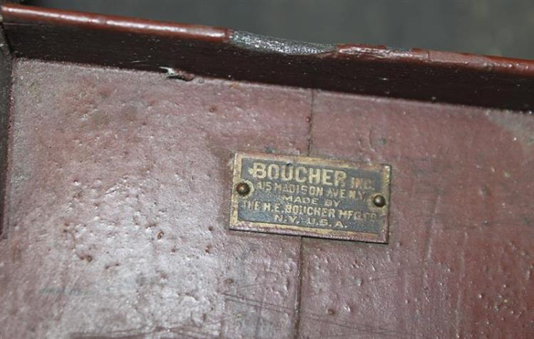H.E. BOUCHER MANUFACTURING COMPANY TOY STEAMBOAT Hull painte