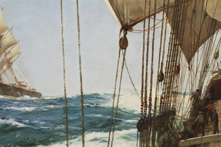 MONTAGUE J. DAWSON, English, 1895-1973,