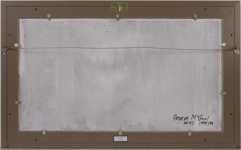 JOSEPH MCGURL, Massachusetts, b. 1958, Sand Beach, Mount Desert Island, Maine., Oil on board, 20