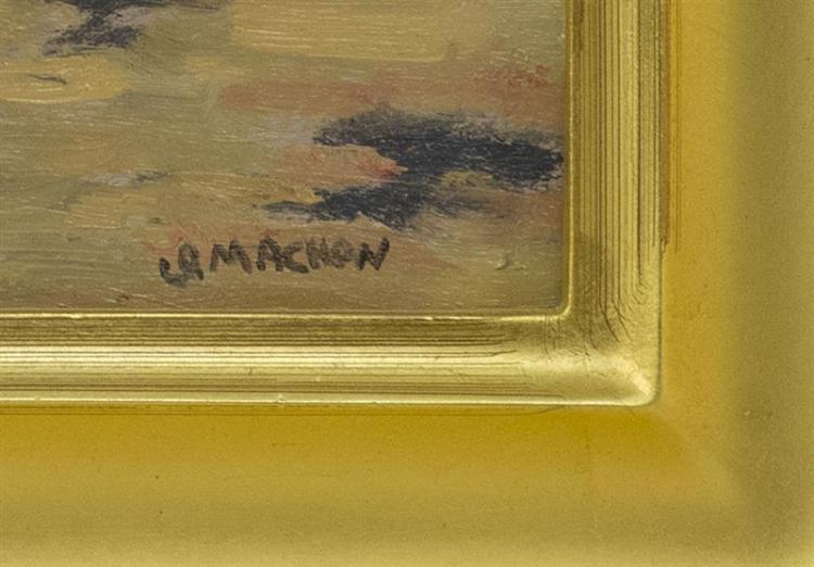 GEORGE MACHON, Cape Cod, Contemporary,