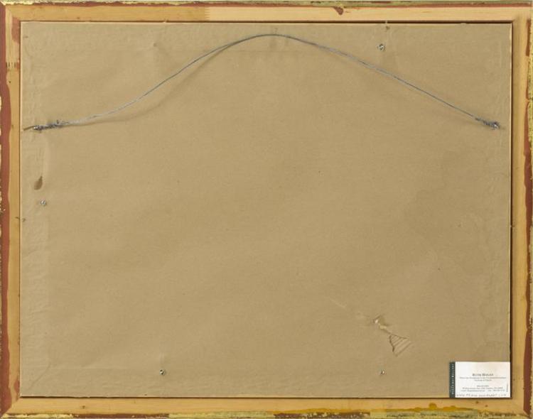 RUTH HOGAN, Massachusetts, b. 1943, Dory, Nauset Marsh., Pastel on paper, 18