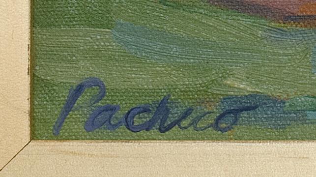 SUZIE PACHECO, Massachusetts, Contemporary, A swim., Oil on canvas, 9