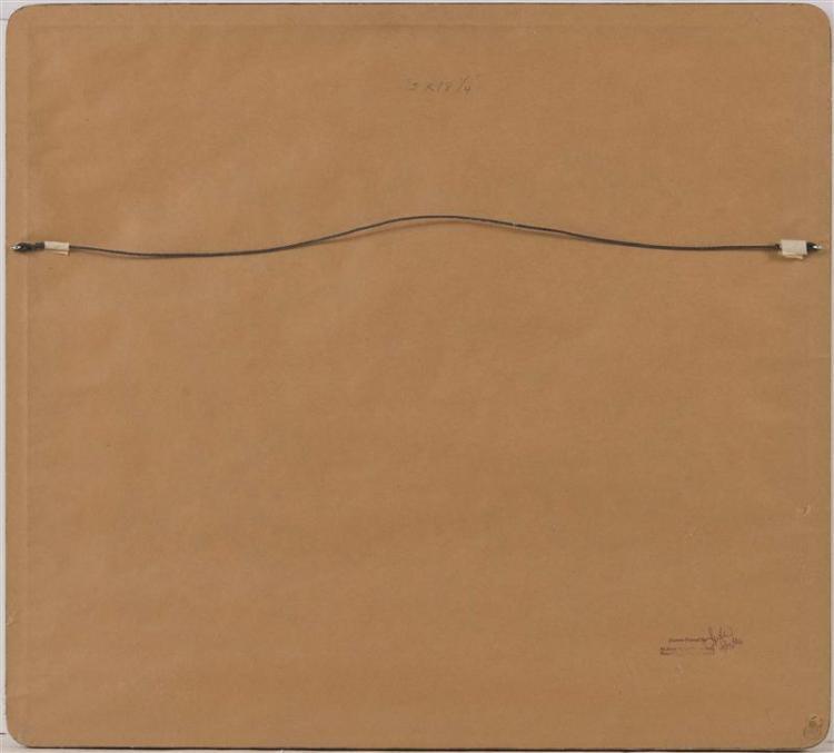JILL HOY, American, Contemporary, Rocky coastline, possible Maine., Watercolor, 16