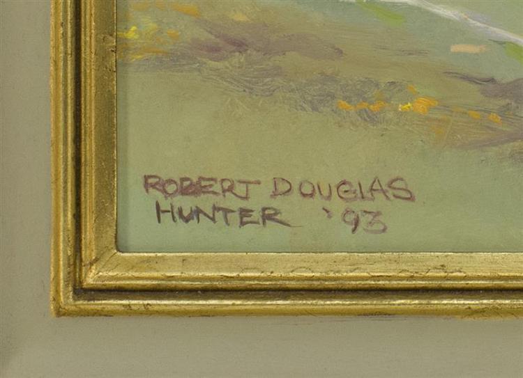 ROBERT DOUGLAS HUNTER, Massachusetts, 1928-2014,