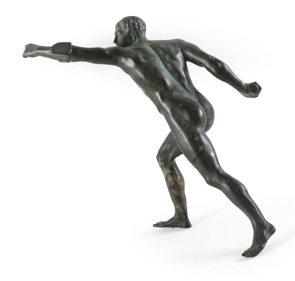 Rodin Rodin`s The Thinker Sensual Male Nude Bronze Marble