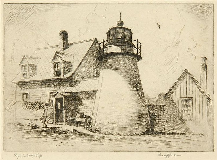 HENRY JARVIS PECK, American, 1880-1964,
