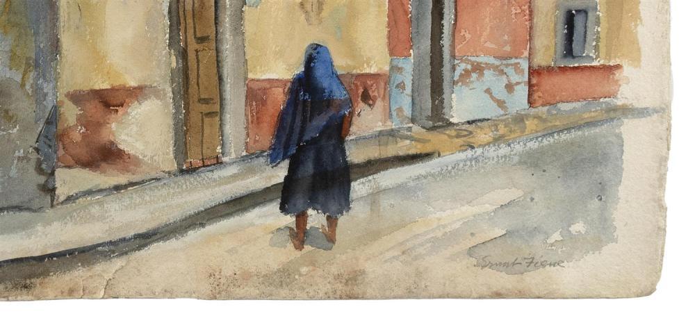 ERNEST FIENE, New York/Germany, 1894-1965,