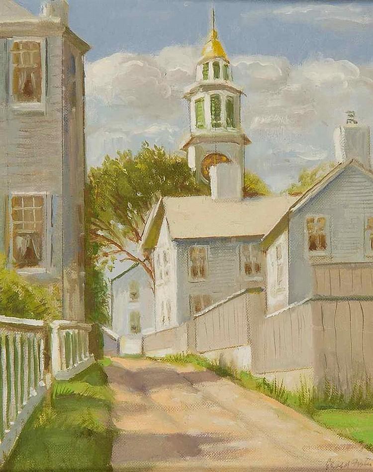GERALD SARGENT FOSTER, American, 1900-1987,