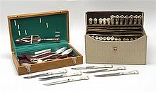 GORHAM MFG. CO. STERLING SILVER PARTIAL FLATWARE SET In the