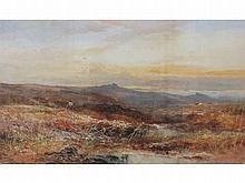 William Widgery (1822-1893) A DARTMOOR SUNSET WITH