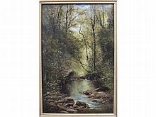 William Widgery LYDFORD GORGE Signed oil on