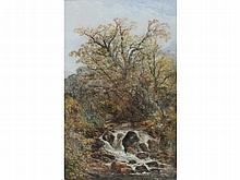 William Widgery (1822-1893) A WOODLAND STREAM