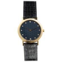 Hermes Gold and Diamond Wrist Watch