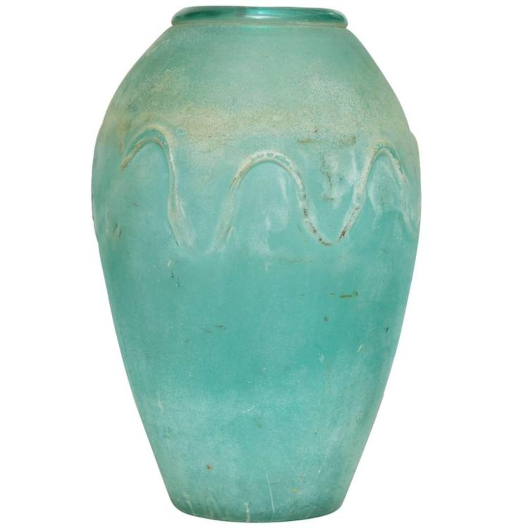 Scavo Seguso Sea Glass Vase