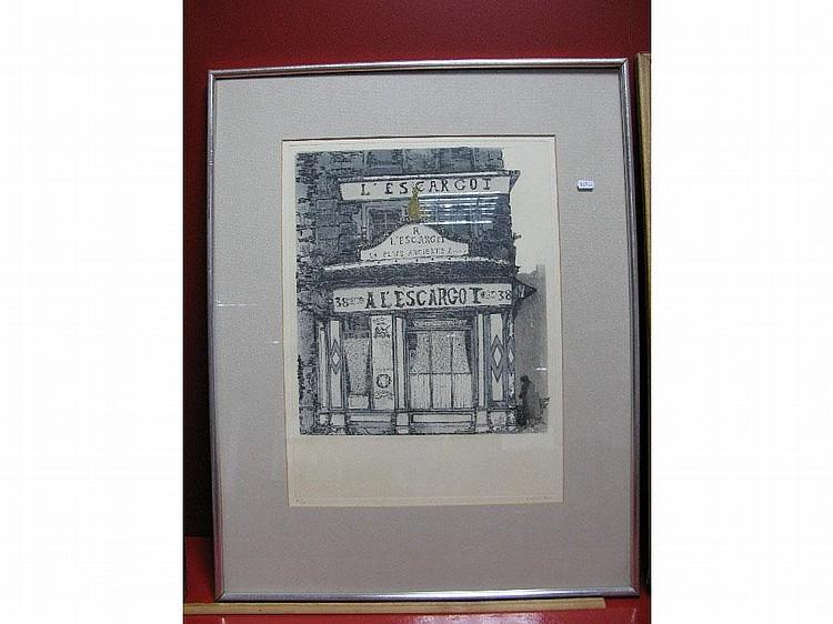 * RICHARD BEER (b.1928) L'Escargot, limited