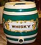 1840's English Whiskey Pub Cask/Green