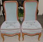 Pr. Tufted Seat High Back Nursing Chairs