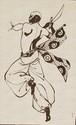 4' x 6' Saber Dancer by