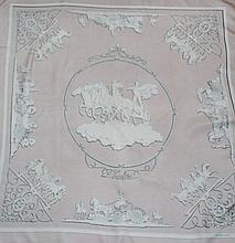 HERMES, paris - carré de soie, 90 x 90 cm, thème  Phaeton , dessin de Ledoux, to
