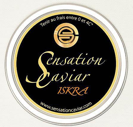 BOITE de 200 g de CAVIAR ISKRA SENSATION CAVIAR
