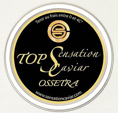 BOITE de 100 g de CAVIAR OSSETRA SENSATION CAVIAR