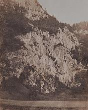 Andre GIROUX (1801-1879), attribue a. Rochers pres de Saint-Maurice. France, ver