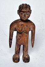 statuette Ewé «venovi», Togo. Représentation de jumeau. 20 cm