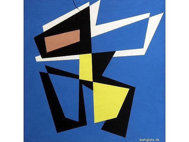 José Pedro COSTIGLIOLO (1902-1985) Composition géométrique s