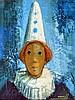 Michel SEMENTZEFF né en1933 . Carnaval. Huile sur toile signée en bas à droite., Michel Sementzeff, Click for value