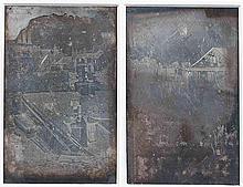 Armand Hippolyte Louis FIZEAU (1819-1896). Vues des toits de Paris, prises depui