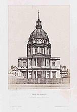 Alphonse FORTIER (1825-1882). Église Sainte-Geneviève , Église Saint-Étienne du