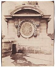 Eugène ATGET (1857-1927). Fontaine du Marché Saint-Honoré , Socle place de la Co
