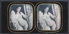 Alexis GOÜIN [Attribué à] (New-York 1799/1800-Paris 1855). Nu au voile les yeux