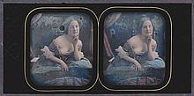 Alexis GOÜIN (New-York 1799/1800-Paris 1855). Le décolleté : femme penchée en av