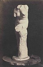 [SCULPTURE]. Sculptures et bas-reliefs. Vers 1855. 3 épreuves dont 2 sur papier
