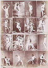 Louis Jean Baptiste IGOUT (1837-1881). Album d'études académiques , nus féminins