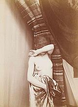 [NU]. Nus. Années 1880. 2 épreuves d'époque sur papier albuminé montées sur cart