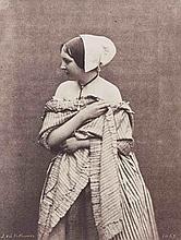 Julien VALLOU de VILLENEUVE (1795-1866). Jeune femme aux épaules dénudées. Vers