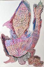URSULA (1921-1999) Composition, 1959 Pastel monogrammé et daté en bas à droite