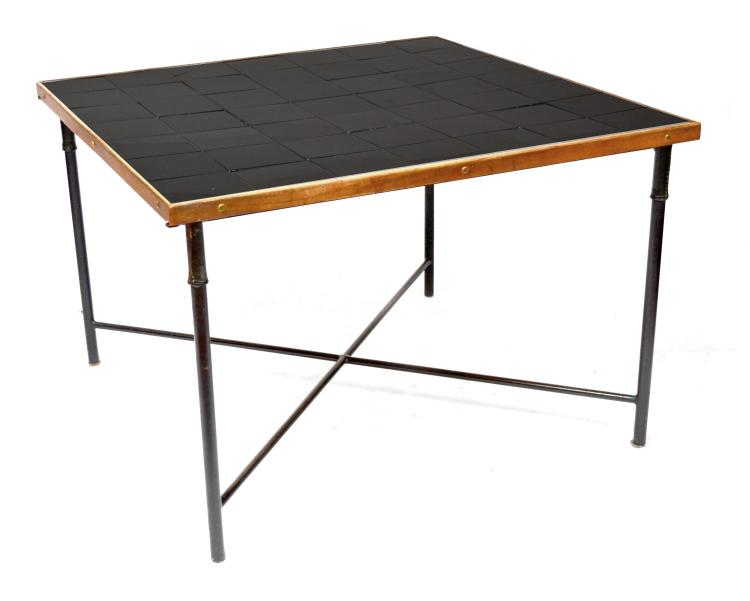Jacques adnet 1900 1984 dans le gout de grande table car for Table carree 120 cm
