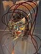 Raymond MORETTI (1931-2005) Portrait de femme Toile signée et datée en bas à droite. 72 x 58 cm
