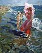 Belonog Anatoly - Mer-et-soleil - 70x55 - Huile sur toile.