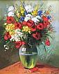 Pavlov - Fleurs-de-champs - 24x19 - Huile sur toile.
